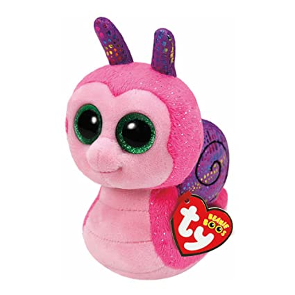aebb367e8f3 Image Unavailable. Image not available for. Color  Claire s TY Beanie Boos Girl s  TY Beanie Boos Small Scooter the Snail Plush Toy