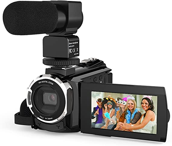 Video Camera 4K Camcorder
