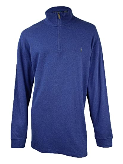 fffcc66fa Image Unavailable. Image not available for. Color  Polo Ralph Lauren Men s Estate  Rib Half Zip Sweater ...