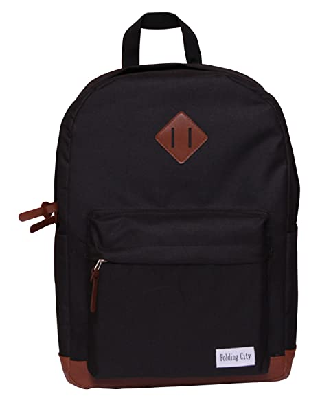 Image Unavailable. Image not available for. Color  Folding City Backpack  For Teenagers Pig Nose Designs Fashion Casual Travel Black School Bag c42b48edaf59b