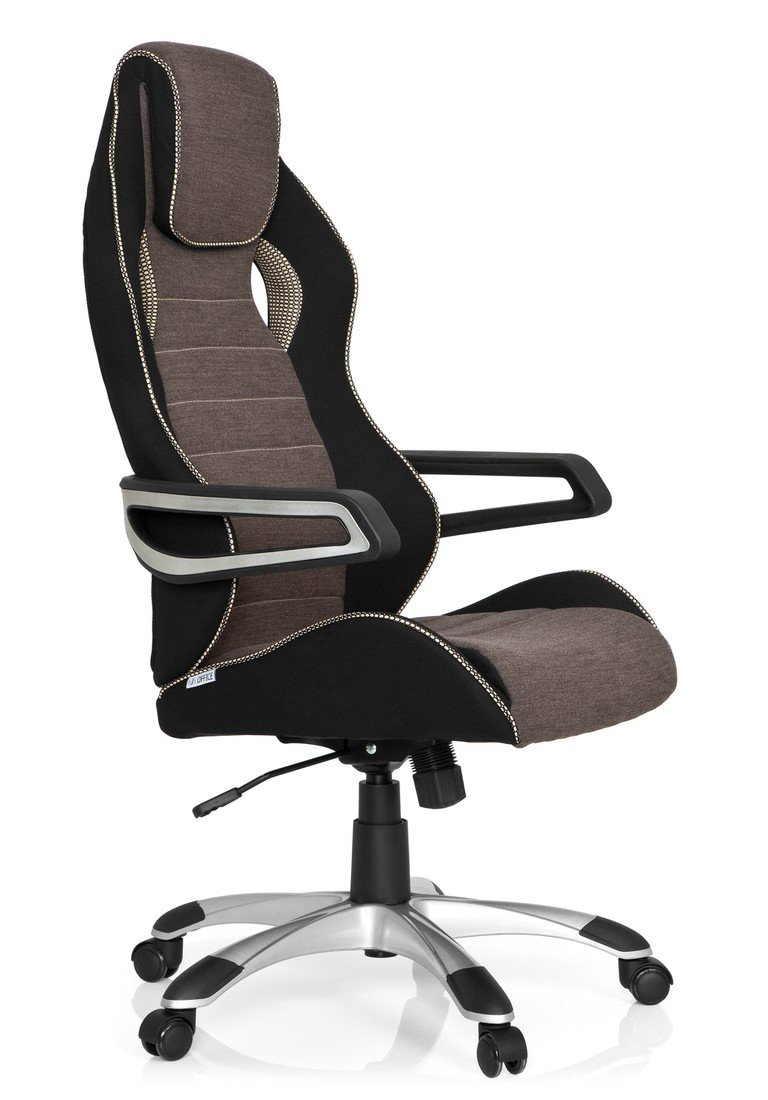 Racer Sport Pro Car Swivel stylish Hjh Office IiiSilverRobust Racing ChairHome Pc Office621847Gaming Chair FabricHigh Back Computer thCsQrxd