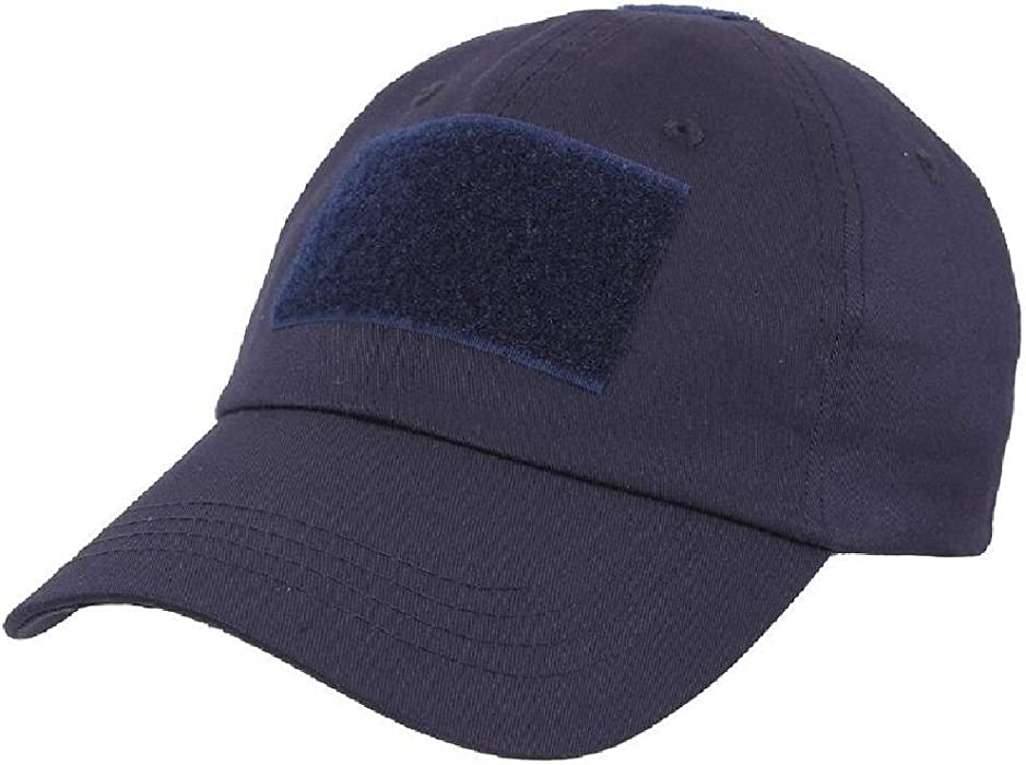 Amazon.com  Navy Blue Military Low Profile Adjustable Tactical Hat Operator  Cap  Clothing a8291574ffe