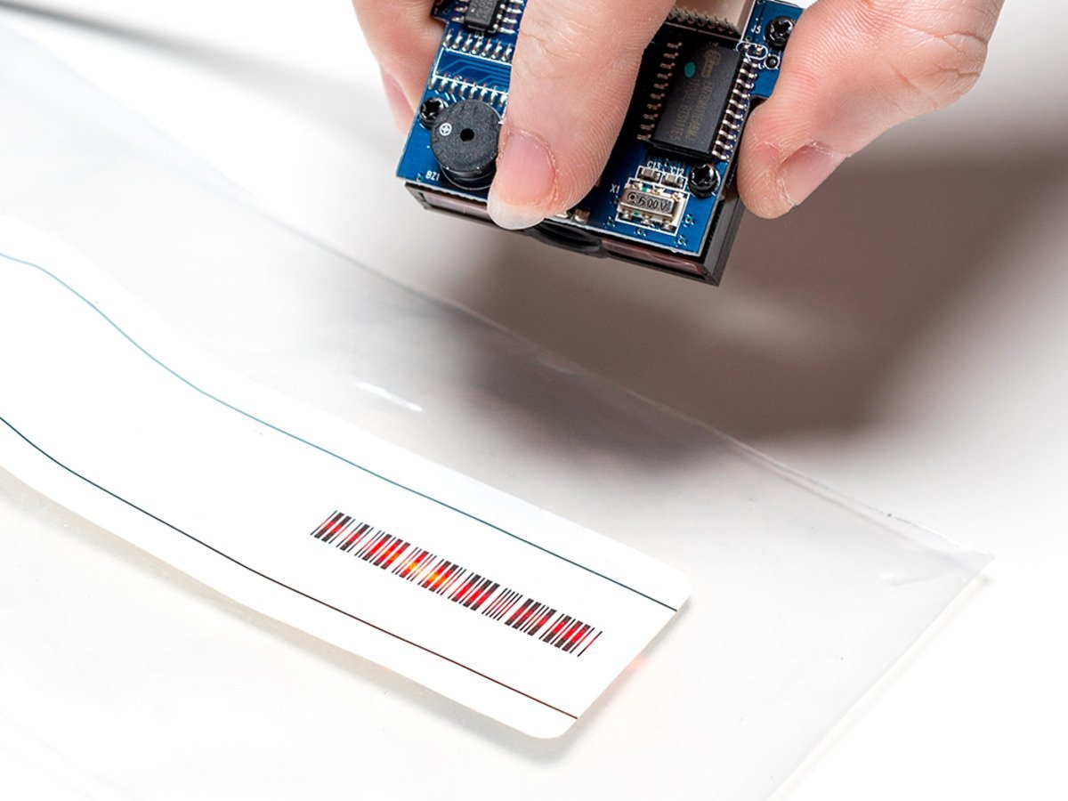 Adafruit Barcode Reader/Scanner Module - CCD Camera - USB...