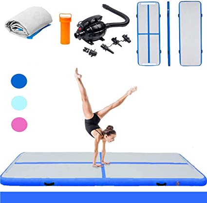 3m Green Inflatable Air Track Gymnastics Tumbling Mat Airtrack Floor Gym Exercis