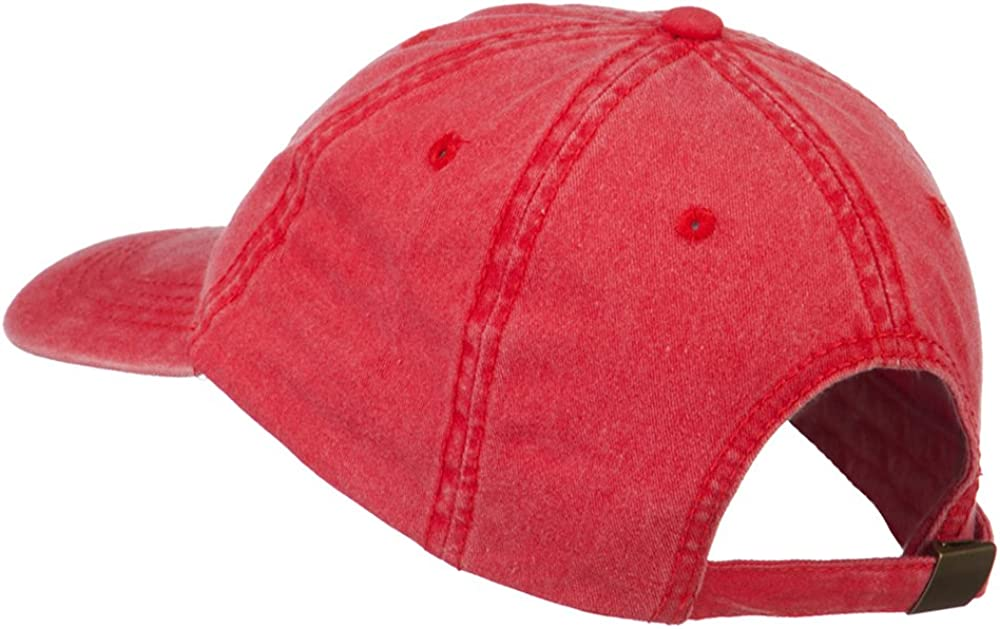 Fishing Bass Lure Embroidered Washed Cap