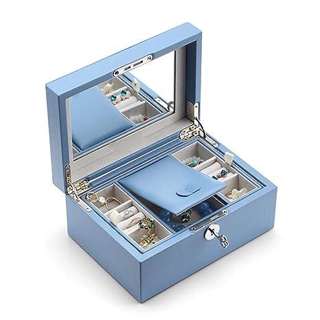 JianMeiHome Cajas y organizadores de Joyas/Cajas Caja de joyeria Caja de Almacenamiento Caja de
