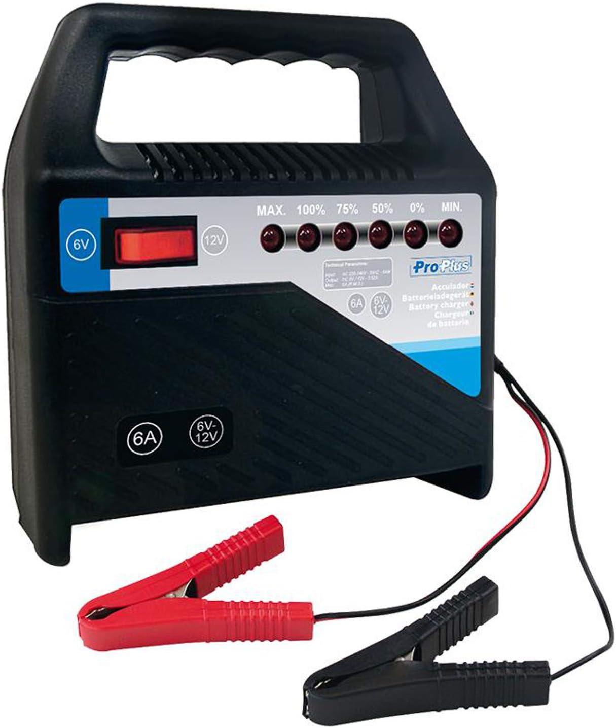 Chargeur de voiture Chargeur de batterie 6 /à 24 V au choix 6 A /à 15 A PAT Europe B.V