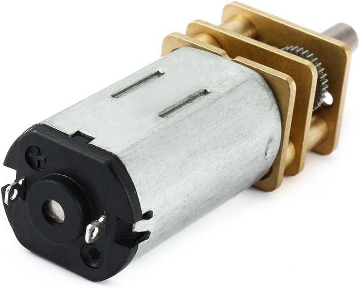 sourcingmap/® DC 12V 66RPM moteur r/éduction vitesse Mini Bouilloire Micro dent/ée