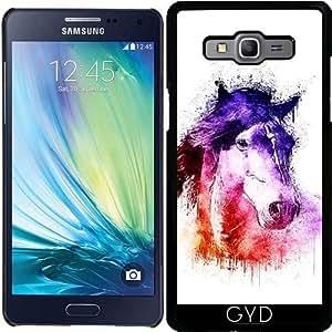 Funda para Samsung Galaxy A5 (SM-A500) - Caballo De La Acuarela by Ancello