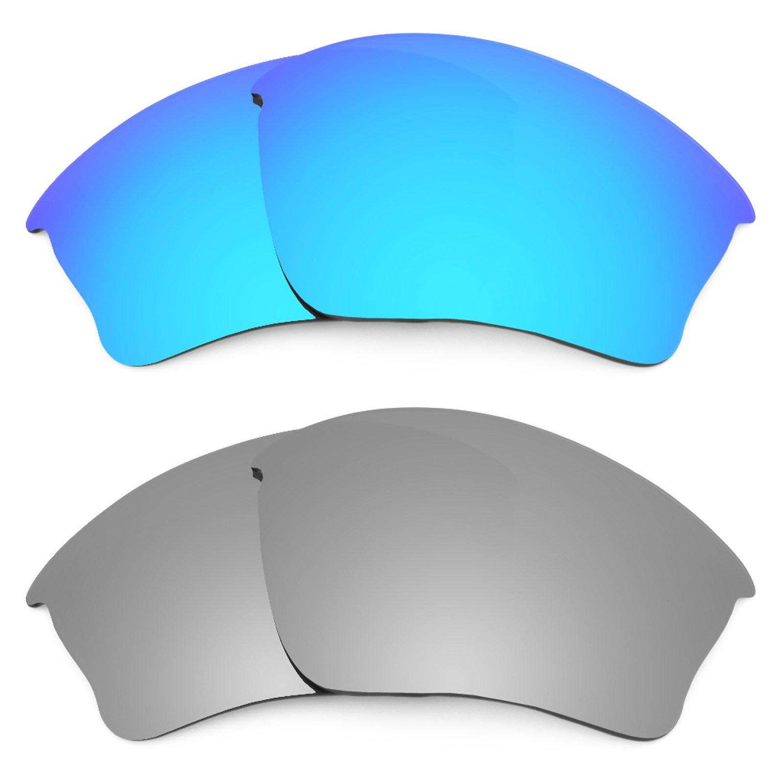 Revant Replacement Lenses for Oakley Half Jacket XLJ 2 Pair Combo Pack K004