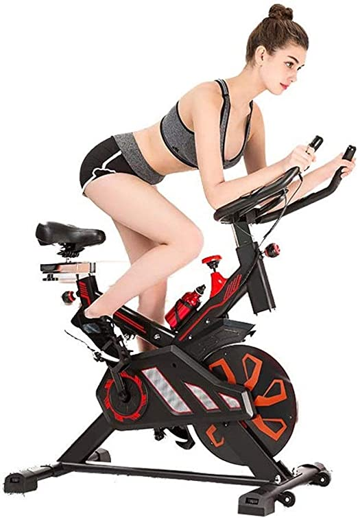Bangxiu Bicicleta estática de Fitness Spinning Bike Advanced con ...