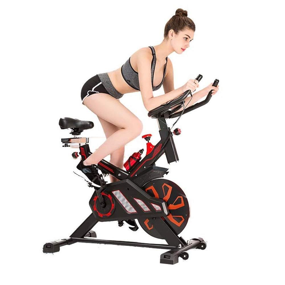 トレーニングエアロバイク サイクリングバイクトレーナー、トレーニングコンピューターと楕円クロストレーナーで高度なスピニングバイク   B07Q2KR2TG