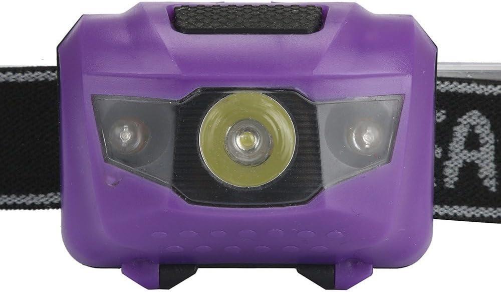 Le Camping etc. la p/êche Lampe Frontale 300 lumens LED avec projecteurs 4 Modes IPX-5 Mini projecteurs /étanches pour la Course /à Pied kashyk Lampe Frontale LED Le Jogging Les Enfants
