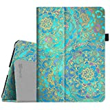 Fintie iPad 9.7 2018/2017, iPad Air 2, iPad Air Case - [Corner Protection] Premium Vegan Leather Folio Stand Cover, Auto Wake/Sleep for Apple iPad 6th/5th Gen, iPad Air 1/2, Shades of Blue