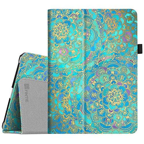 Fintie iPad 9.7 2018/2017, iPad Air 2, iPad Air Case - [Corner Protection] Premium Vegan Leather Folio Stand Cover, Auto Wake/Sleep for iPad 6th / 5th Gen, iPad Air 1/2, Shades of Blue