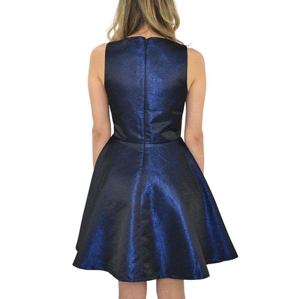 Julie Brown Designs Fauna Dress in Royal Navy