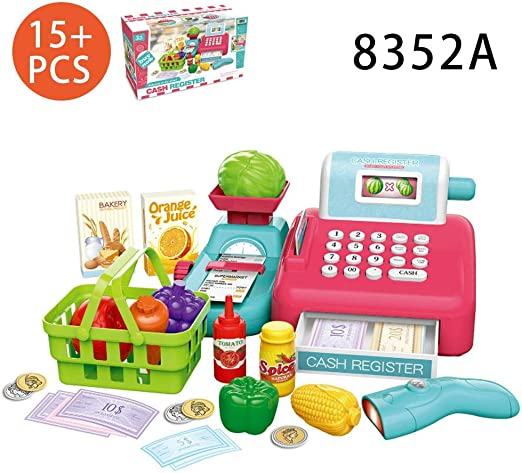gouxia74534 - Caja registradora de Juguete para niños: Amazon.es ...