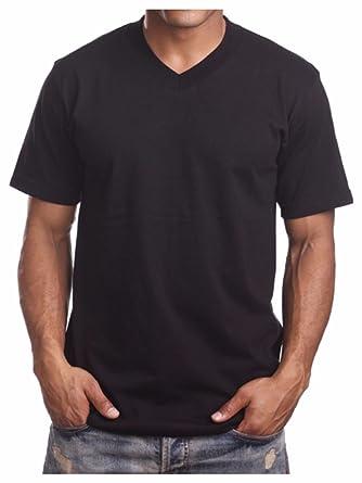 83b57b6a911 90210 Wholesale Men s Heavy Weight V-Neck T-Shirt Lot Blank Plain Tee Basic