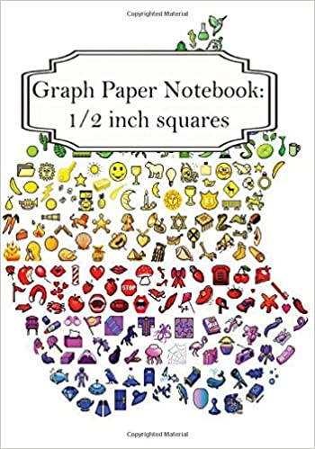 buy emoji graph paper notebook graph paper 12 inch squares 5 book online at low prices in india emoji graph paper notebook graph paper