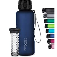 """720°DGREE Water Bottle """"uberBottle"""" +Fruit Infuser - 1.5L - BPA-Free, Leakproof, Reusable - Large Tritan Bottle for…"""