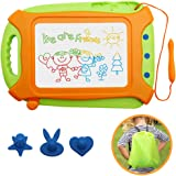 Wellchild Magnetic Drawing Board for Toddlers,Travel Size Toddlers Toys A Etch Toddler Sketch Colorful Erasable with One…