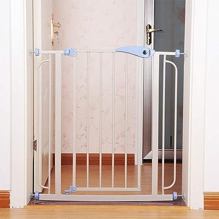 Hfyg Barrera de Seguridad Safety 1st Simplemente Cierre La Barrera De Metal De Seguridad Extra Alta, Ideal para Niños Y Mascotas/Puertas/Pasillos/ Escaleras Puerta de Seguridad (Size : 76-86cm): Amazon.es: Hogar