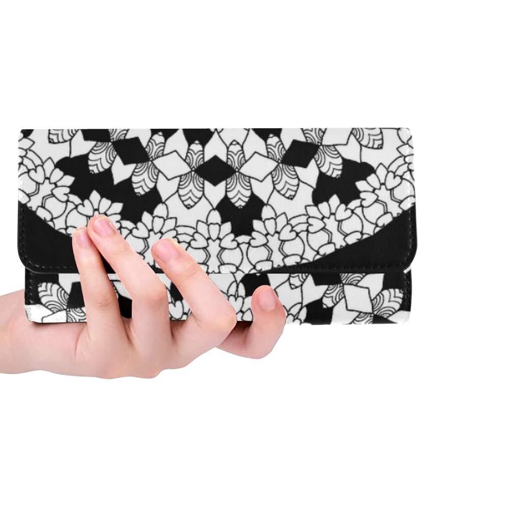 JTMOVING Cartera de mano con diseño de mandala para colorear ...