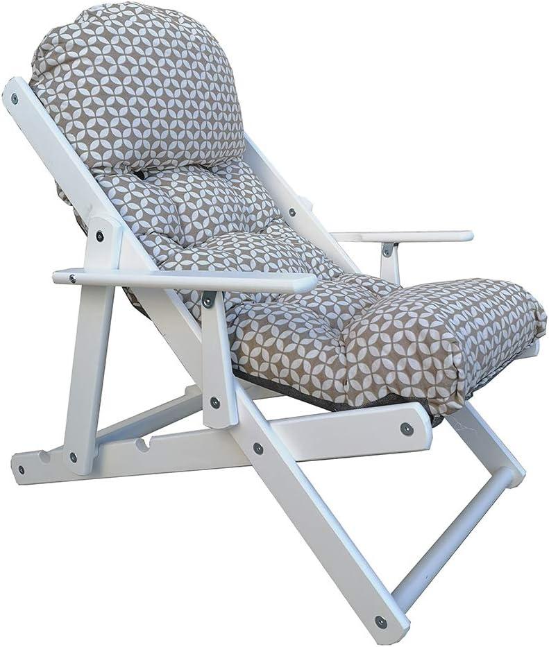 Grigio Poltrona Relax reclinabile in 3 Posizioni