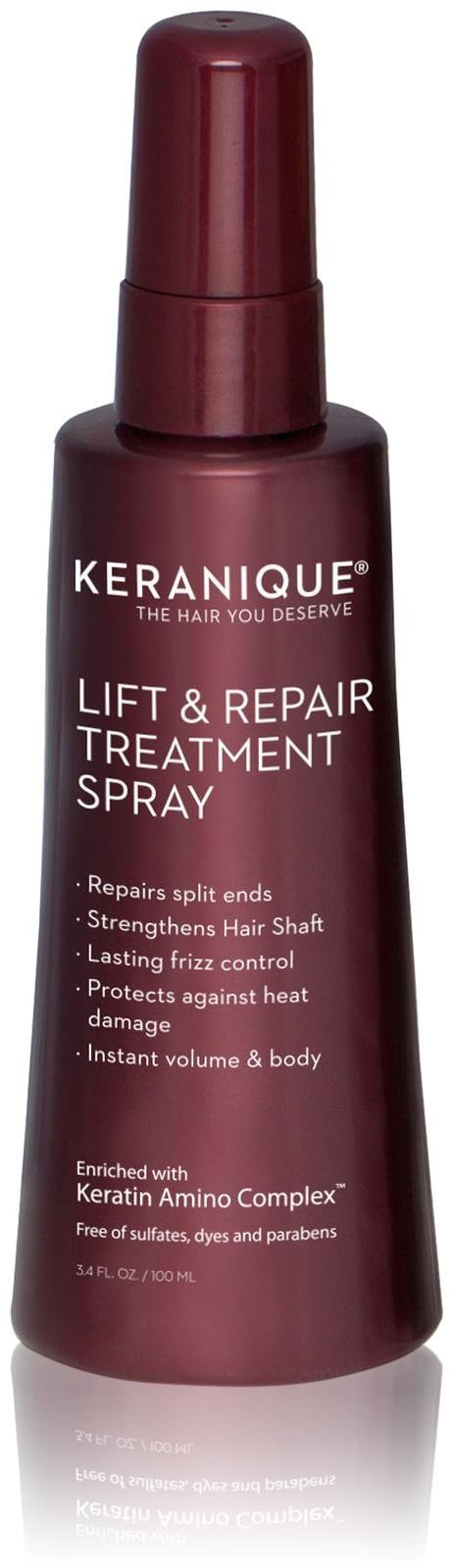 Keranique Lift and Repair Treatment Spray, 3.4 Ounce