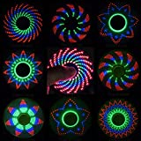FIDGET SPINNER - 'The Coolest Fidget Spinner' with 18 Patterns LED Lights - Anti-stress Hand LED Spinners - Amazing LED Light Up Spinners with Crazy Designs - Finger FIgit Spinner Toys