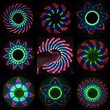 "Toys : Me So Funny Fidget Spinner, ""The Coolest Fidget Spinner"" with 18 Patterns LED Lights, Anti Stress Hand LED Spinners, Finger FIgit Spinner Toys"