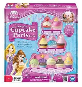 Disney Princess Enchanted Cupcake Game - Alimento de juguete Princesas Disney (Wonderforge WFI01088) (versión en inglés)