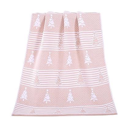 Toallas de árbol de Navidad Toallas de algodón de familia Toallas de baño Toalla de baño