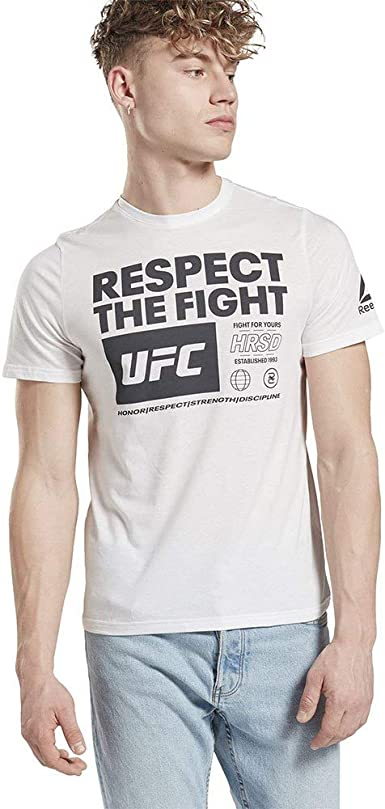 Reebok UFC FG Logo Tee Tricot Homme