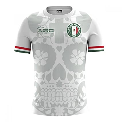 33d73d79b Image Unavailable. Image not available for. Color  Airo Sportswear 2018-2019  Mexico Away Concept Football Soccer T-Shirt Jersey