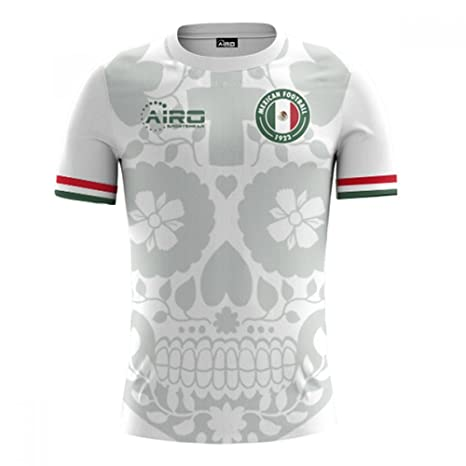 6942597f0 Image Unavailable. Image not available for. Color  Airo Sportswear 2018-2019  Mexico Away Concept Football Soccer T-Shirt Jersey (Kids