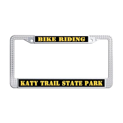 Amazon.com: Katy Trail State Park License Plate Frame Design License ...