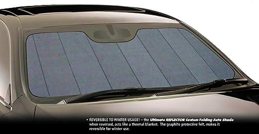 Intro-Tech TE-03-P Silver Custom Fit Premium Folding Windshield Sunshade for Select Tesla 3 Models