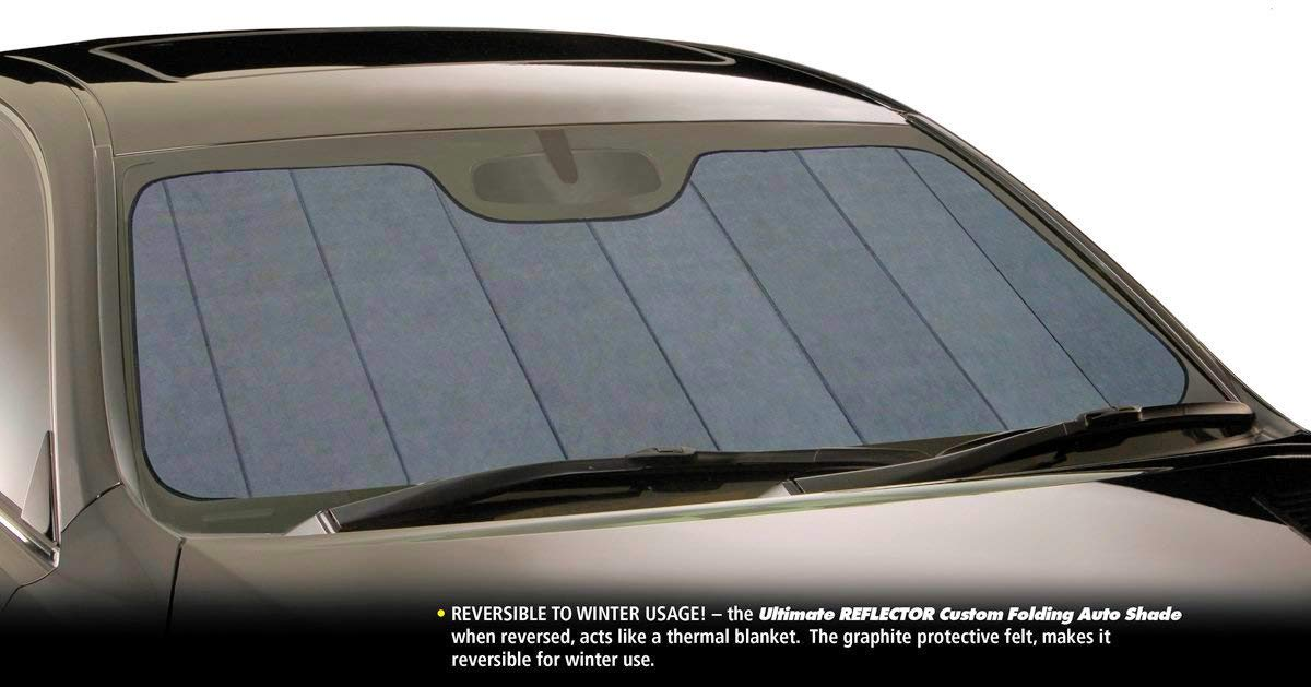 Intro-Tech SU-40A-R Silver Ultimate Reflector Custom Fit Folding Windshield Sunshade for Select Subaru Outback Models, w/Sensor by Intro-Tech Automotive (Image #3)