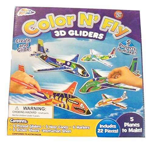 Color Fly Gliders Planes Pieces product image