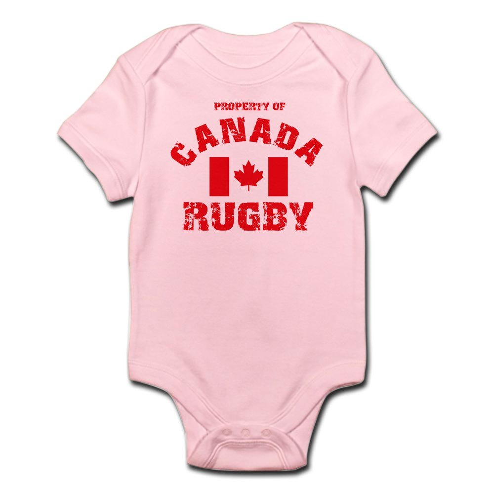 CafePress - Canada Rugby Infant Creeper - Cute Infant Bodysuit Baby Romper