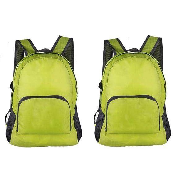 400afb6f58c6 Amazon.com: Xeminor Fashion Foldable Backpack Lightweight Water ...