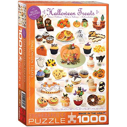 EuroGraphics Halloween Treats 1000 Piece Puzzle -