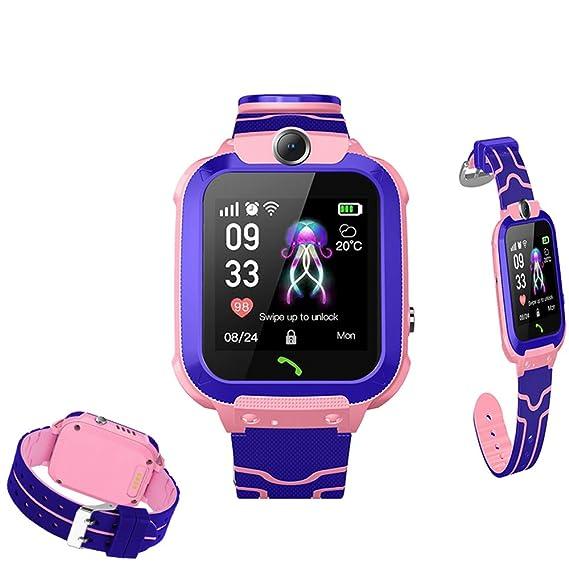 Reloj Inteligente para niños - GPS Tracker SOS podómetro ...