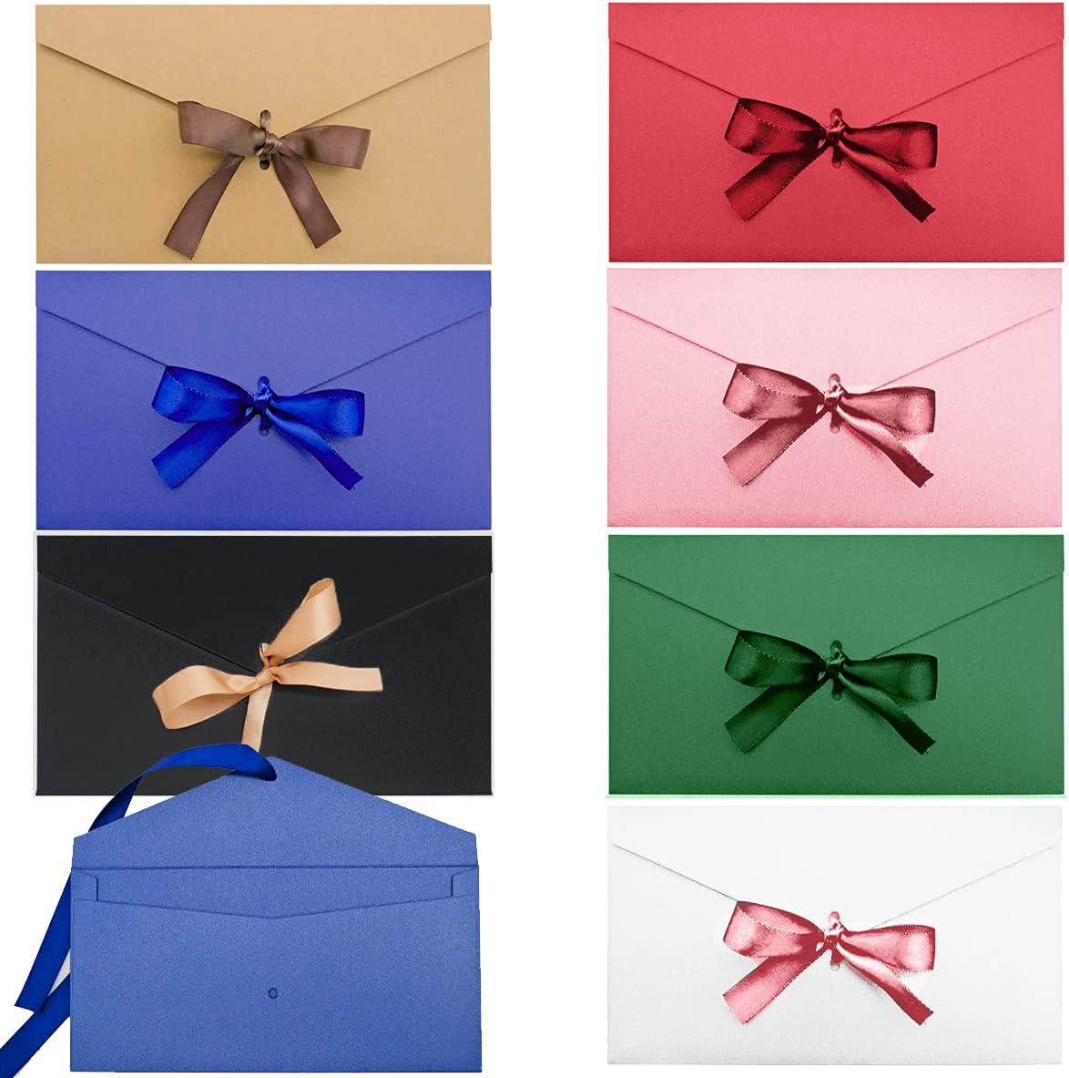 Osuter 21PCS Sobres Kraft Colores Mini Kraft Sobre Tarjeta Regalo para Bodas Cumpleaños Navidad