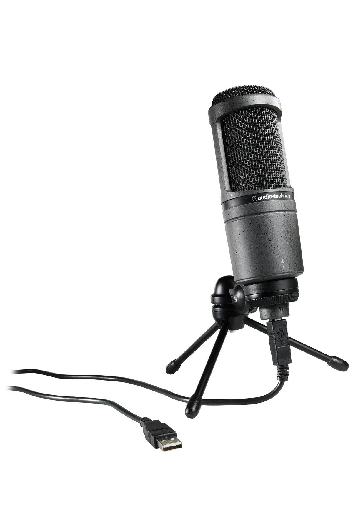 Microfono Audio-technica At2020usb Cardioid Condenser Usb..