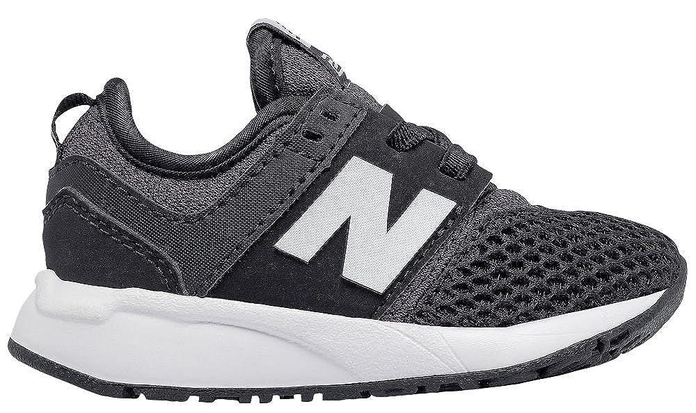 38ab10795f6 Amazon.com: New Balance 247 Classic Shoe - Toddler's Casual Black/White:  Shoes