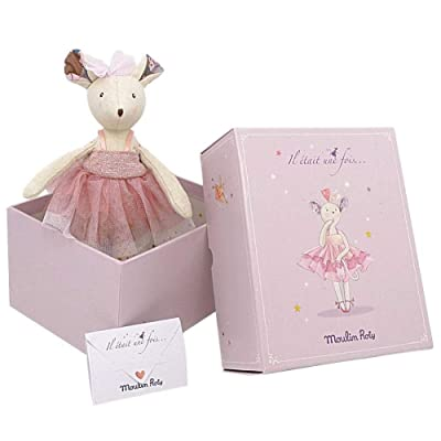 Moulin Roty il Etait Une Fois - Prima Ballerina Mouse Doll : Baby