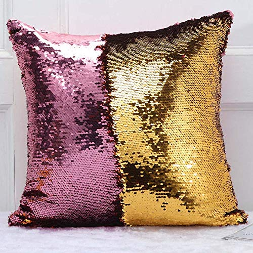 Big sequin pillow | Etsy