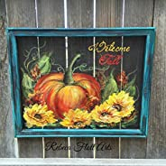 Welcome Fall,Fall sign